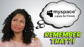 MYSPACE - Remember That?!