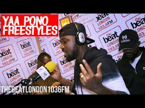 Yaa Pono Drops A Freestyle for The Beat London 103.6FM