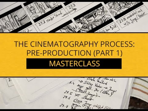 The Cinematography Process || The Script & The Director