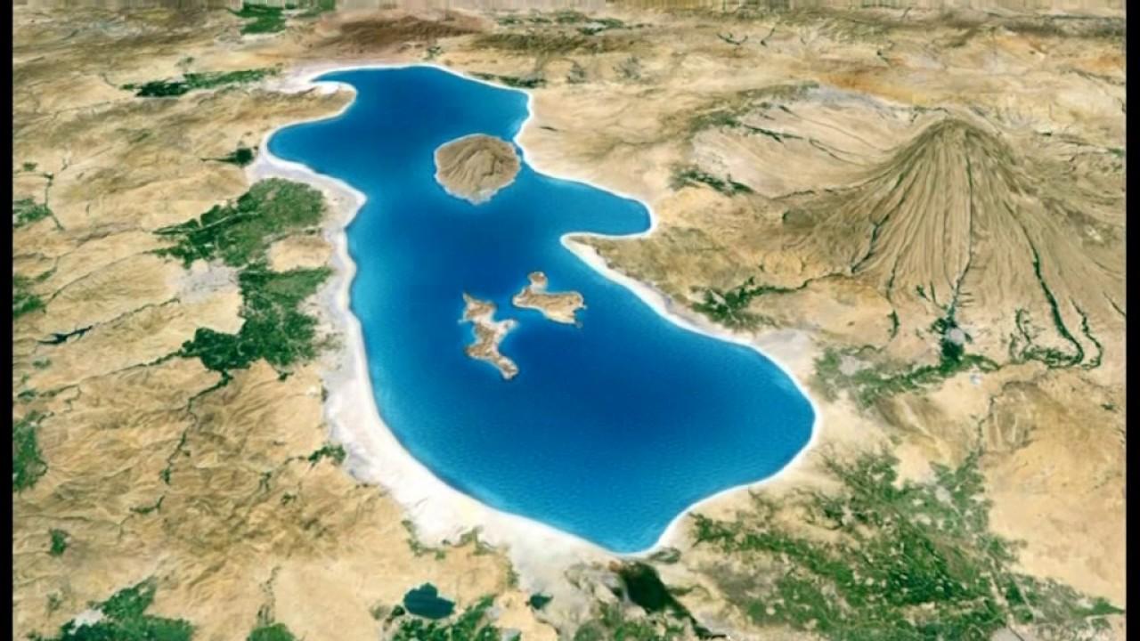 Urmia Lake Iran 6 34 YouTube