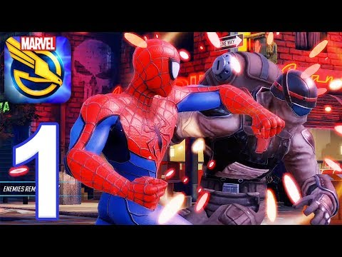 MARVEL Strike Force - Gameplay Walkthrough Part 1 (iOS, Android)