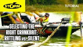Rattling vs. Silent Crankbaits: HOW TO FISH