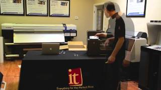 HP OfficeJet Pro X576dw Multifunction Printer with PageWide Technology - Unboxing