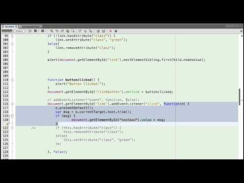 Mobile Application Development - JavaScript Overview