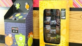 How To Make A Doll Vending Machine - Doll Crafts