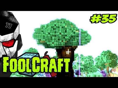 FOOLCRAFT #35 - THE TREE EATER! SUPERSONIC BEAVER!!   [Modded Minecraft 1.10]