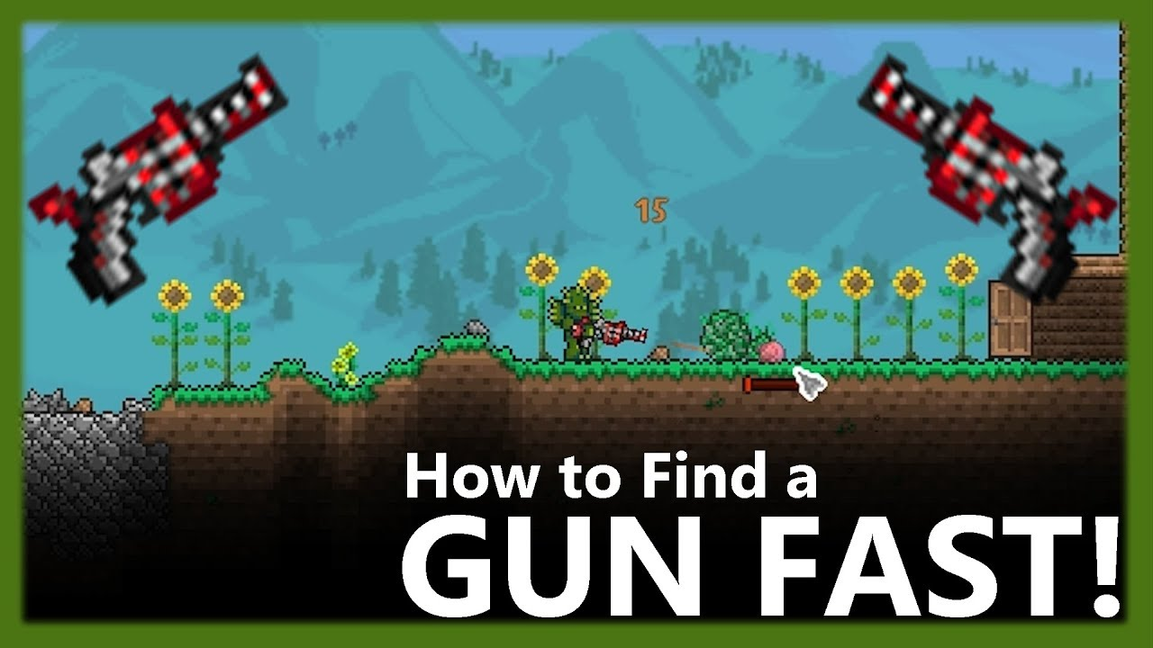 Terraria Gun: What is the Best and Why? | GamesCrack org