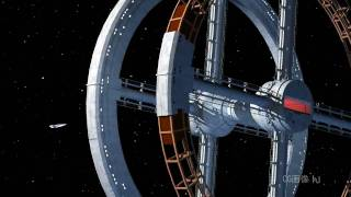 2001:a space odyssey;CG station-5 (HD version)