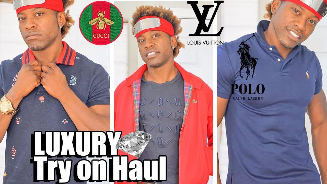 Mens Luxury Gucci Louis Vuitton Polo Fashion Nova Try On Haul