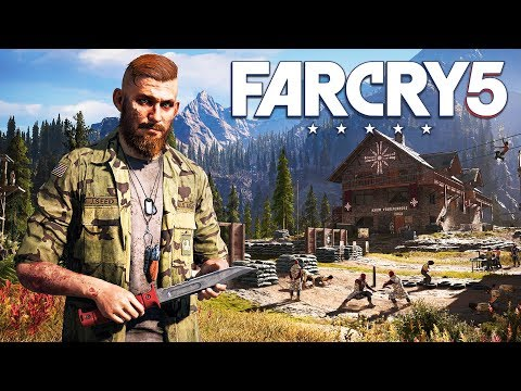 FAR CRY 5 WALKTHROUGH, PART 2! (Far Cry 5 Gameplay)