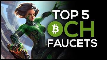 Top 5 Bitcoin Cash Faucets