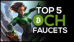 Top 5 Bitcoin Cash Faucets