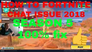HOW TO FIX MIC/VOICECHAT IN FORTNITE! FIX 100%