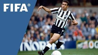 The first Brazilian to play in England