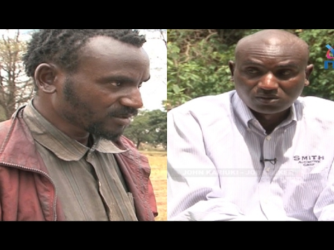 Wellwishers line up to assist jobless A student John Kariuki living in the streets