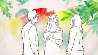 Рисованный ролик на заказ для инфобизнеса. Рисованное видео для онлайн школы.