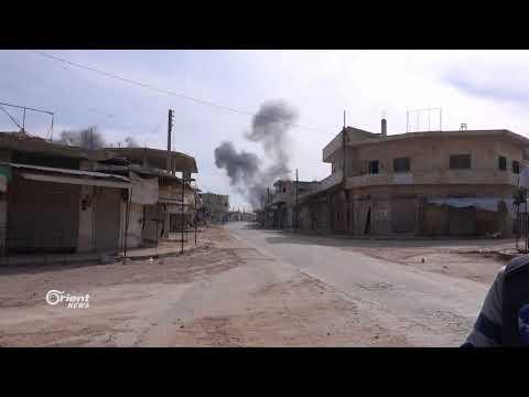 الشرطة الحرة تحرس بيوت النازحين في ريف ادلب رغم القصف
