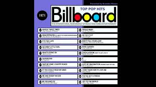 Billboard Top Pop Hits   1971