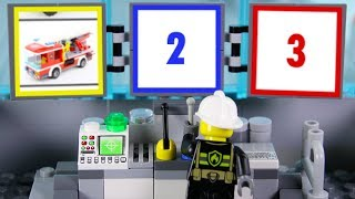 LEGO Experimental Fire Truck, Cars, Police Cars STOP MOTION LEGO Fire Truck | LEGO | Billy Bricks
