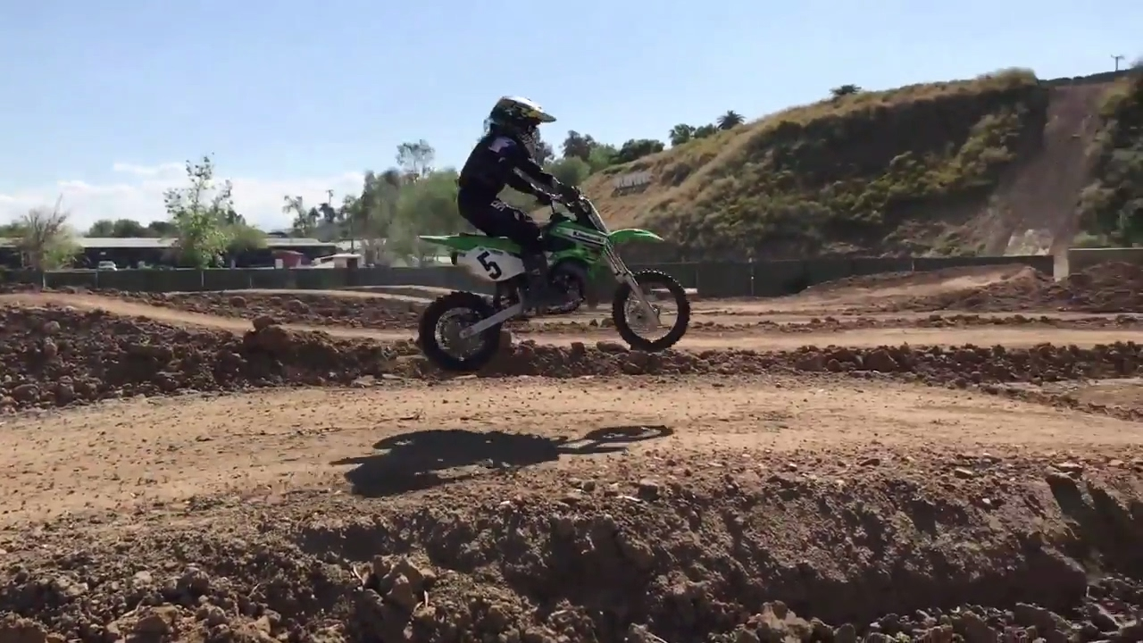 NEW Milestone MX PeeWee Track | Kids On Dirt Bikes
