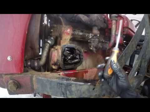 Farmall H and McCormick w4 Governor Set up - YouTube