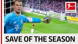 Best Saves 2018/19 - Vote for the Save of the Season
