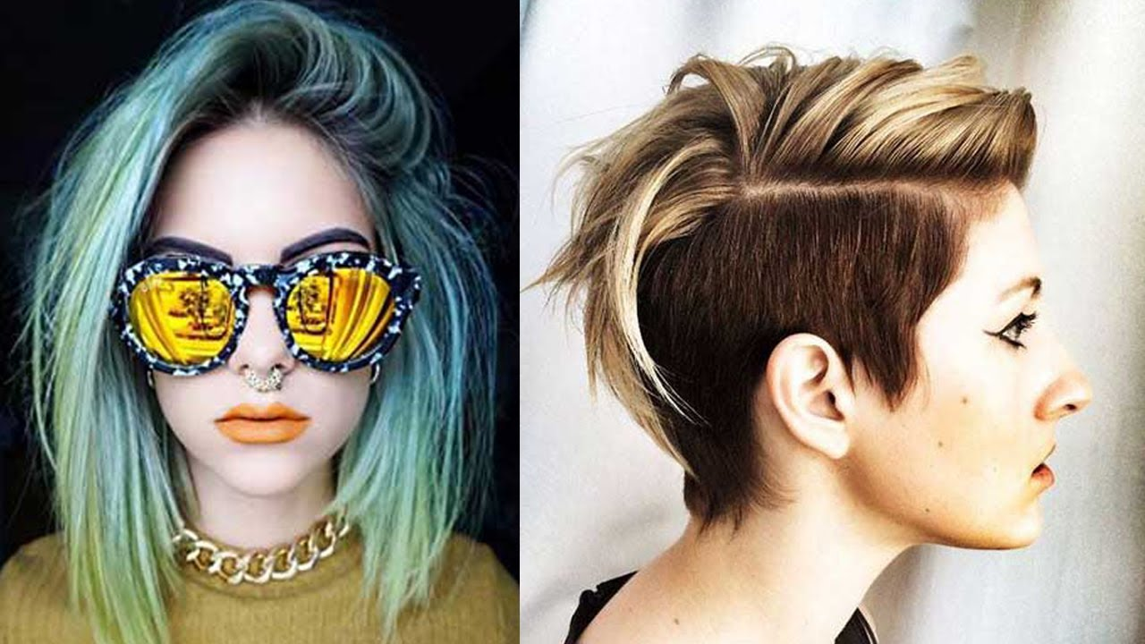 Trendy Short Haircuts 2017 Women