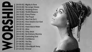 Beautiful Christian Worship Songs Playlist & Lauren Daigle Songs Medley - Top Praise Worship Songs