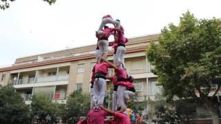 4de7 Id || Castellers De Sant Feliu || Sant Rarimi 2016