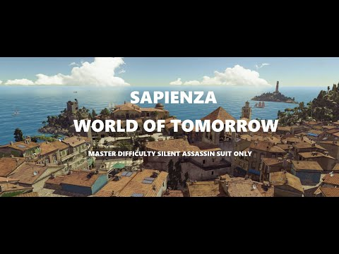 Hitman2 GOTY Legacy pack: SAPIENZA- World of Tomorrow. Master Difficulty, Silent Assassin Suit only.  
