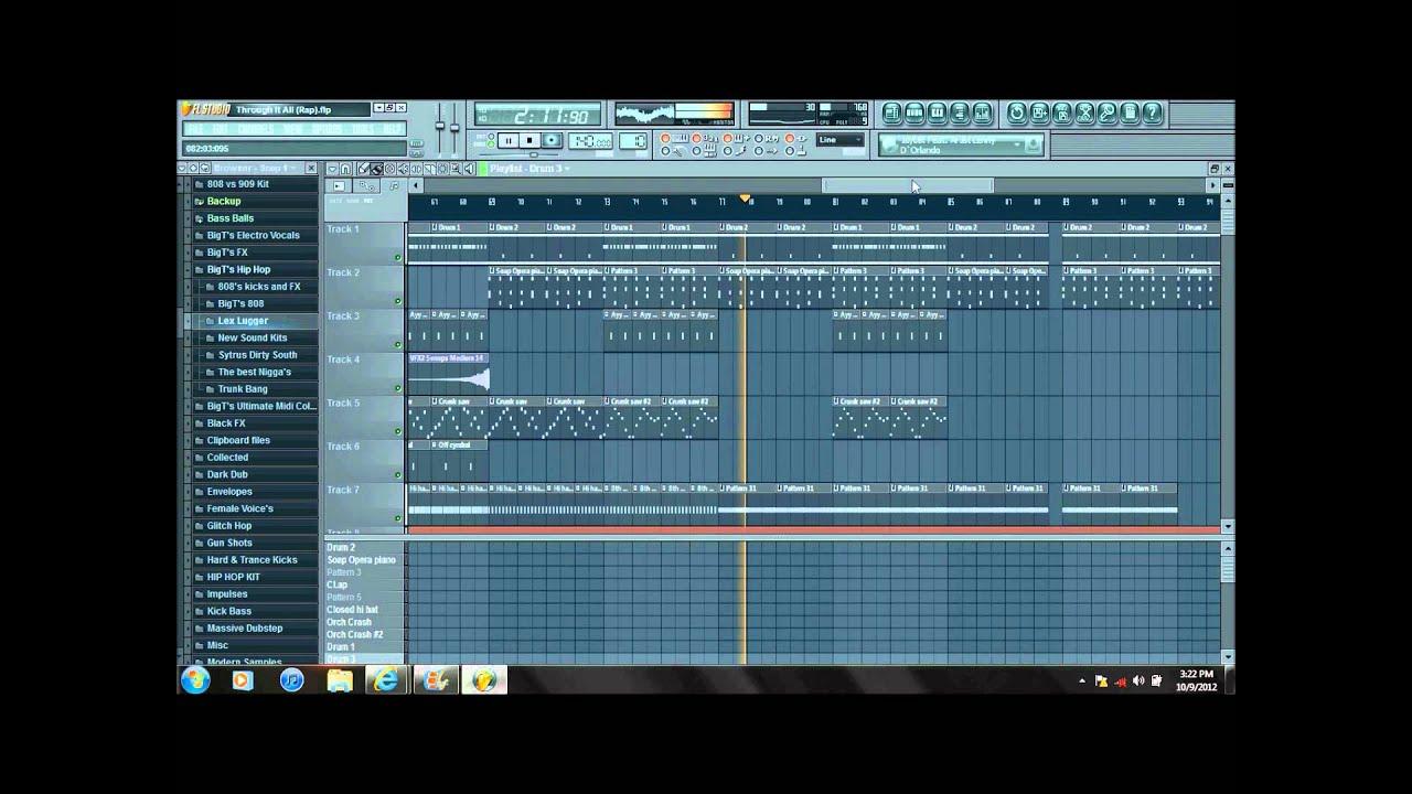 Free instrumentals for fl studio