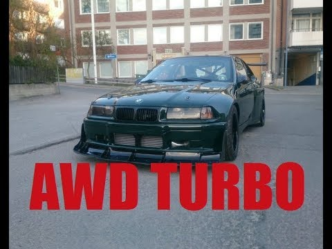 AWD Turbo BMW E36 Compact Build Project