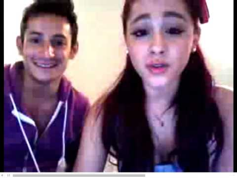Ariana Grande Twitcam  Live Chat w/ Frankie Grande (02/23/2012)