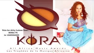 Abby Lakew Kora Awards 2016 Nominated best traditional female artist of Africa