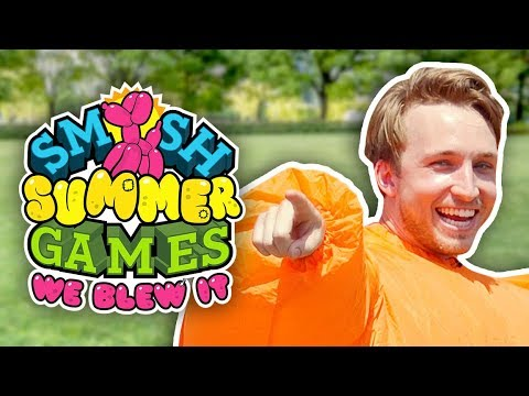 WE BLEW IT! (SMOSH SUMMER GAMES TRAILER)