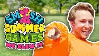 WE BLEW IT! (SMOSH SUMMER GAMES TRAILER)