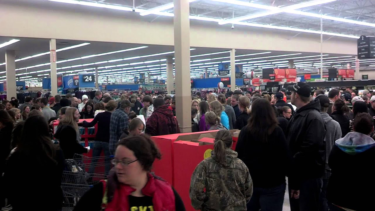 black friday at norwich new york walmart