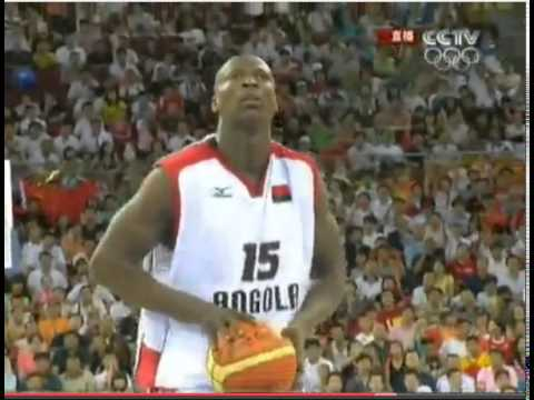 China vs Angola Olympics games 2008 part 3