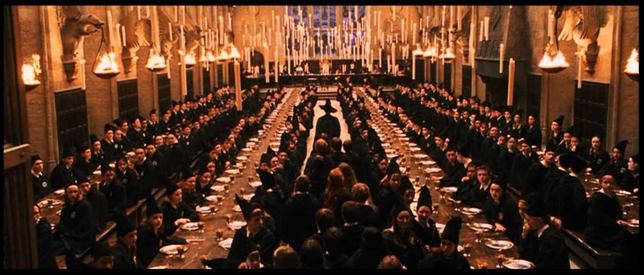 Harry Potter y la piedra filosofal  Entrando al Gran