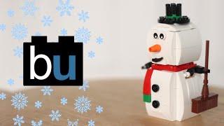 Lego Snowman Review 40093