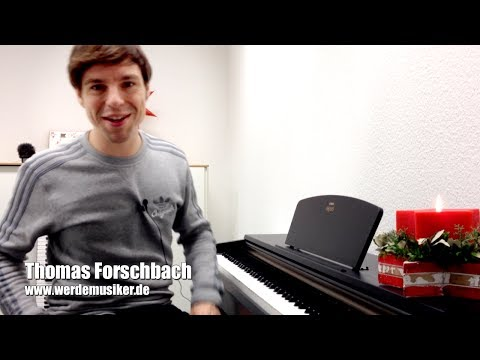Christmas Song - Last Christmas Wham - Piano Tutorial Teil 1 - Klavier lernen - Anfänger