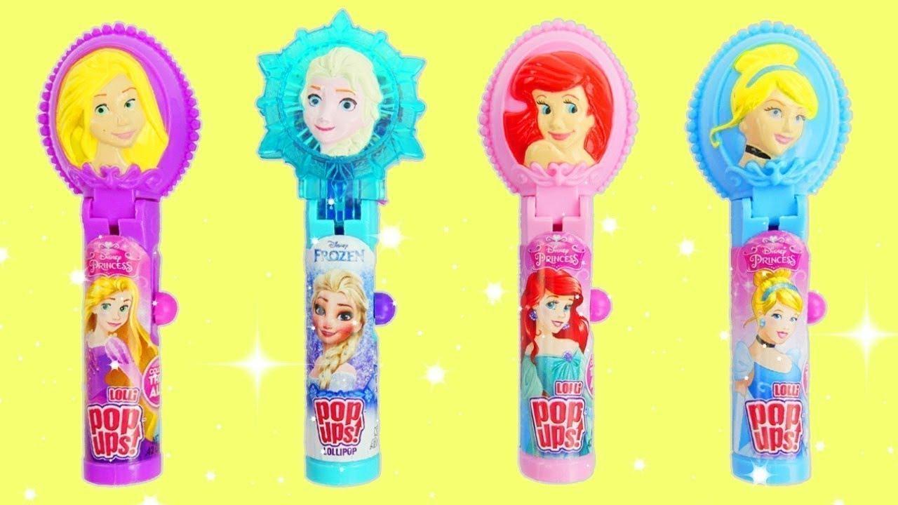 Download Disney Princess Lollipop Pop Ups Princesses unboxing