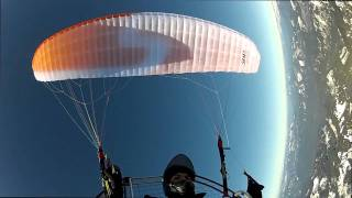 Mt Jefferson Glacier - Powered Paragliding the Oregon Cascade Range - GoPro Hero2