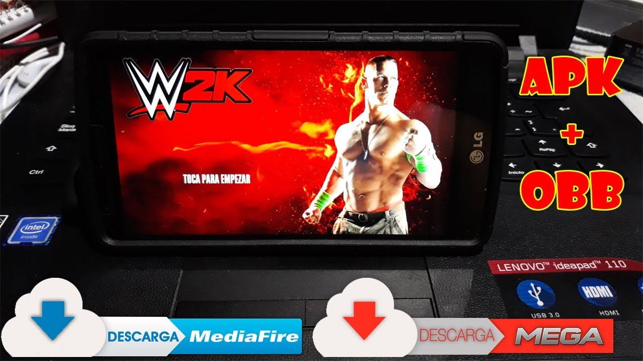 Descarga Wwe 2k Para Android 2018 I Ultima Version Apk Datos Obb