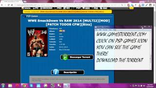 HOW TO DOWNLOAD AND PLAY WWE2K14 IN PPSSPP EMULATOR