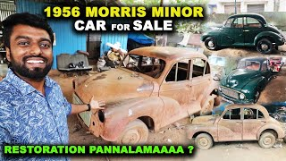 1956 MORRIS MINOR !! Car For Sale - Shall we buy it after Restoration ?