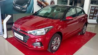 Hyundai New 2018 ELITE i20 Asta Variant Red Passion Dual Tone Colour Walkaround!!