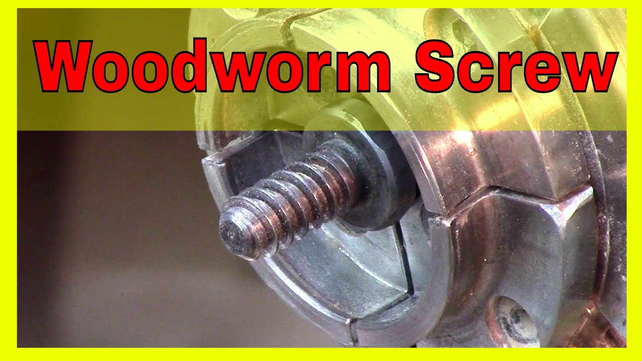 Wood Worm Screw Chuck Tip Of The Week Youtube