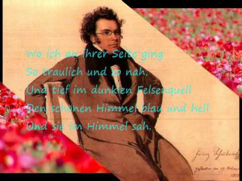 Schubert Lieder : An die Musik, Im Frühling