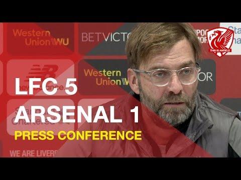 Liverpool 5-1 Arsenal | Jurgen Klopp Press Conference